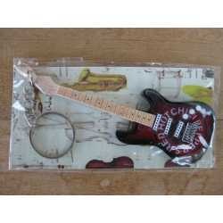 keyring Fender Stratocaster Red Hot Chili Peppers