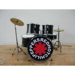 Drumstel red hot chili peppers (black)