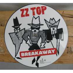 Originele Picture Disk (LP) van ZZ Top 'Breakawy' 1994