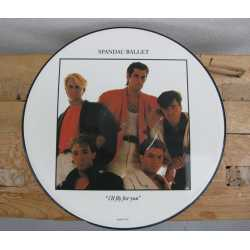 Originele Picture Disk (LP) van Spandau Ballet 'I'll fly for you' 1984