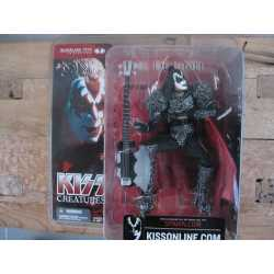 Rock action figure Gene Simmons (KISS) met Cort Axe 'bijl' gitaar 2002