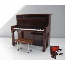 Piano stage bruin - wood