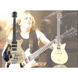 Gretsch G6131-MY Malcolm Young - ACDC -, Natural Signed