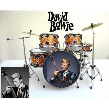 Drumstel David Bowie 1947-2016 'STAR'