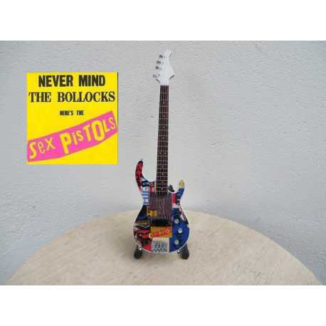 "Gitaar Fender Stratocaster Sex Pistols ""Never mind the bollocks"""
