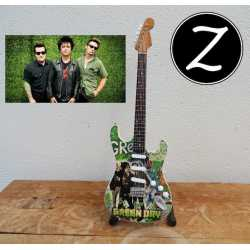 Gitaar Fender Startocaster Green day - Billie Joe - tribute