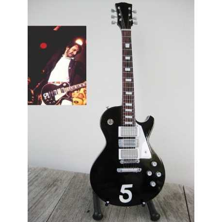 miniatuur gitaar Pete Townshend (the Who) - Gibson Les Paul Deluxe