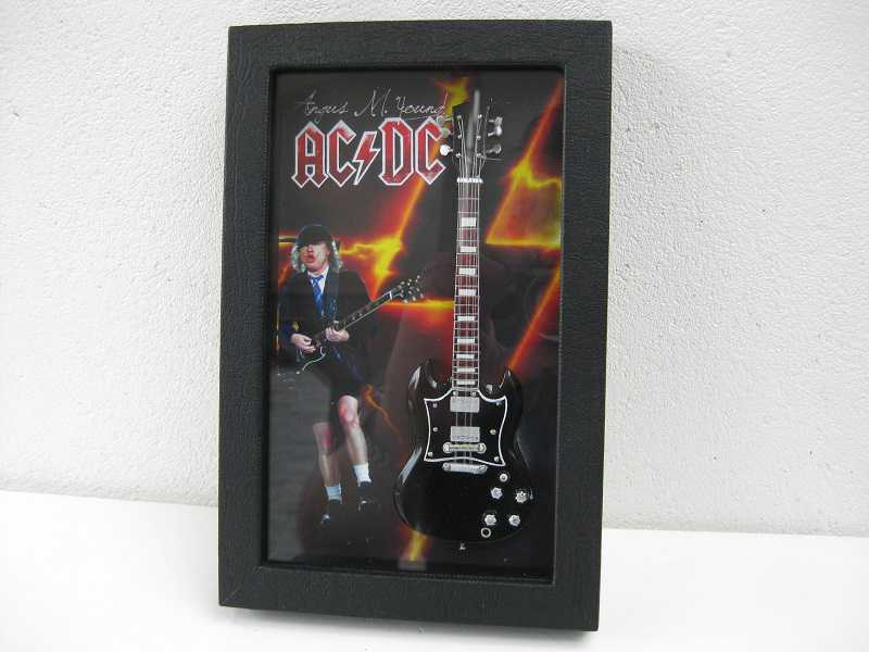 Blackbox Angus Young ACDC 3D schilderij
